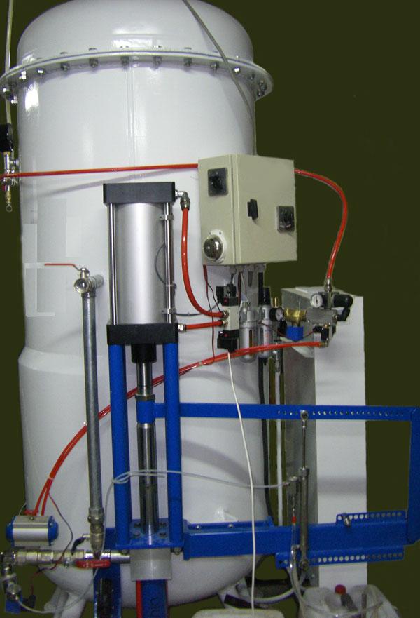 Миксер полимер мрамор