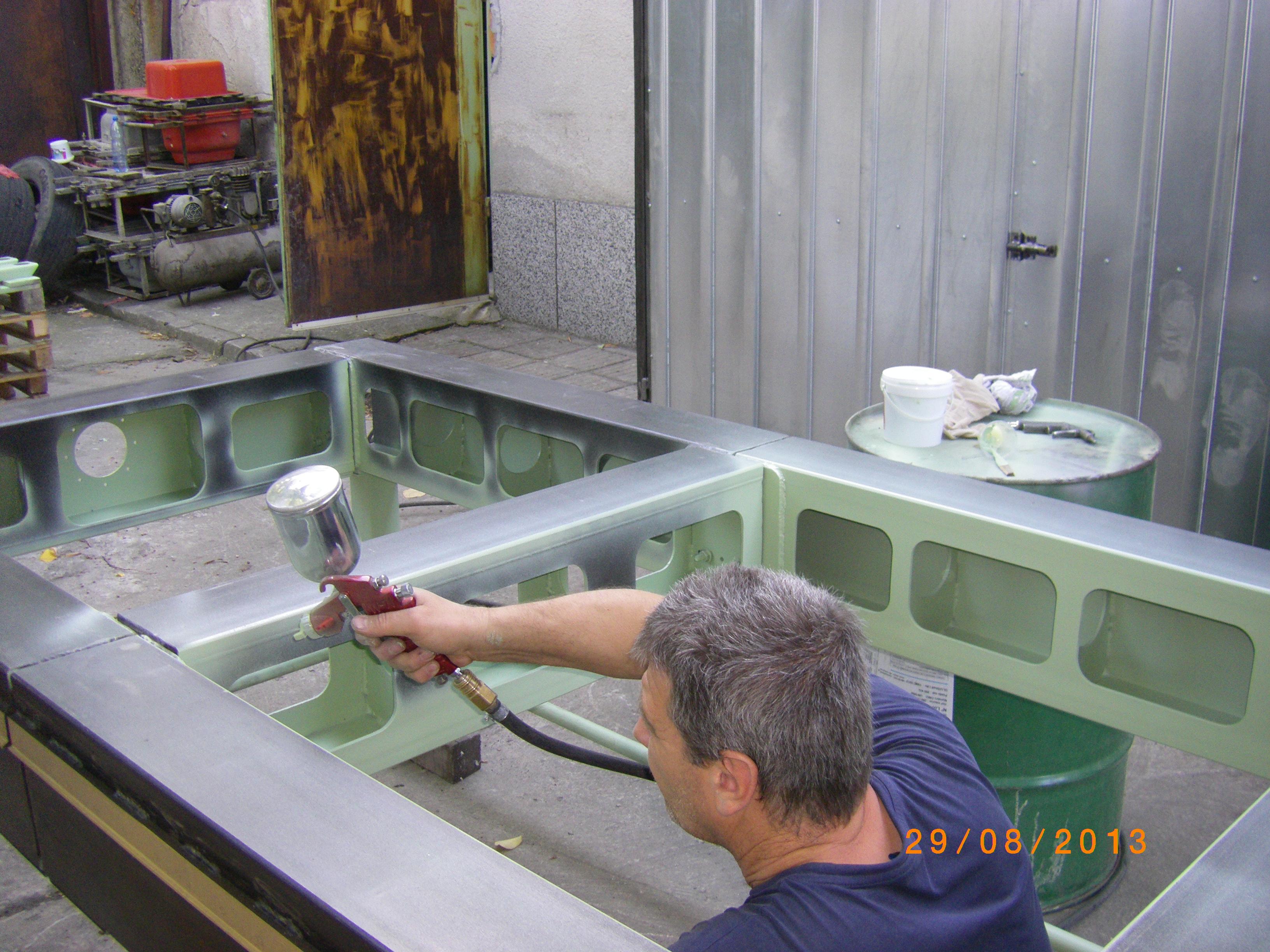 грундиране epoxy